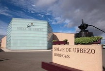 Solar de Urbezo Winery. Spain / We would like to send you a heartfelt invitation to visit our Bodega, and to savour with us a glass of fine wine, a symbol of friendship among people, elaborated with all our dedication and love of the land and of a job well done.