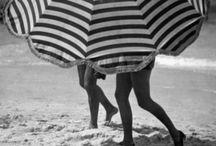 Vintage Strips / #vintage #strips #fashion #dress