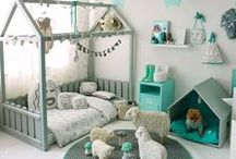 Kids room / colorful, scandinavian kids room