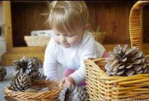 Nos inspira. Materiales, ideas, espacios para jugar / Todo aquello que nos inspira, nos atrae y deseamos para la educación de nuestros bebés y niños/as