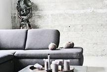 Concrete in home
