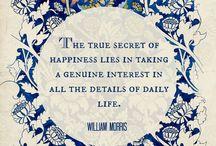 William Morris of Course / Art, design and life of William Morris