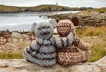 Knitting...Norwagian...pattern...fair isle...