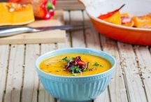 Paleo Soups / Vibrant and tasty paleo soups that are perfect for lunches and full of goodness.