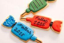 Fallas 2015 en Nuts & Delights / Tartas y galletas decoradas con fondant y glasa real, con motivo de las Fallas 2015