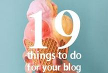 blogging tips / ideas and tips for bloggers - how to make your blog even better.