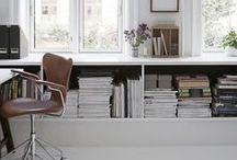 W O R K S P A C E / Inspiration for the office / workspace / studio