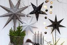 Scandinavian christmas / christmas decorations