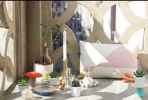 Home accesories / home accesories, home decor, pillows, plants, vase, cups, clock