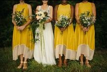 Wedding - Colour scheme / Mustard and grey