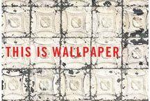 HANG UPS / #interesting #fashionable #wallpaper and #wallcoverings #inspiration #artistry #design