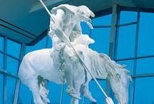 statues & sculpture / by Sharon Woodhead Leo