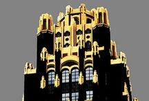 buildings / by Sharon Woodhead Leo