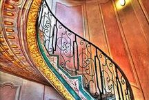 staircases / by Sharon Woodhead Leo