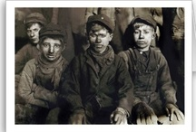 coal mines / My grandfather died in a mine cave-in  in Sheridan County , Wy.  My father had to quit school and go to work in the mine so his mother and sisters could live in their home in the coalmine town of Monarch, Wyoming.  / by Sharon Woodhead Leo