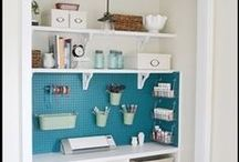 Storage Ideas for the Home / Lots of economical solutions to store and display stuff