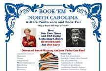 Book'Em NC 2014 / February 22, 2014.  Over 80 authors are expected to participate in book signings, talks and panel discussions. Proceeds from the book sales will go to literacy campaigns and anti-crime measures in Robeson County.  Time: 9:30 am-4:00 pm  Place: Robeson Community College, 5160 Fayetteville Road, Lumberton, NC 28360 Website: www.bookemnc.net