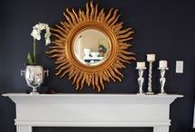 Mantle Impact / Fireplace mantles are often the focal point of a room. Some that really appeal to me.