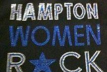 Hampton University Alumna / I am a 1996 Hampton University graduate. Class name Onyx III