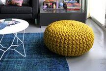 Pletené a háčkované bytové doplňky / bytové doplňky, pletené a háčkované polštáře, pletené a háčkované přehozy, ruční práce