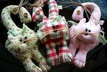 Střihy-hračky / hračky pro děti, plyšová zvířátka, šití, ruční práce