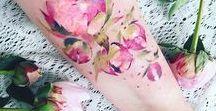 Tattoo Inspirations / I see a pretty tattoo I would like on my body, I pin it.