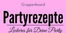 Gruppenboard Partyrezepte / Hier geht es rund um Partyrezepte, Fingerfood, Ideen für Silvester, Ostern, Weihnachten, Geburtstag, Brunch Rezepte Wer mitpinnen möchte, darf mich gerne anschreiben.
