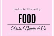 FOOD - Pasta, Nudeln Rezepte / Hier gibt es leckere Rezepte mit Nudeln, Tortellini, Fettuccini, Canneloni usw - eben alles was das Pastaherz begehrt.  pasta nudelrezepte pastaküche italienisch