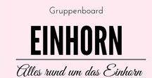 Alles rund um das Einhorn / Der Einhorn Hype bricht nicht ab und daher findet auf diesem Gruppenboard alles Platz, was mit dem schönen Fabelwesen zu tun hat.  Unicorn Einhorn