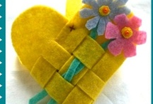 Felt crafts / by Maria Usztyan