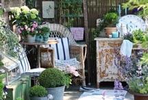 Shabby chic garden