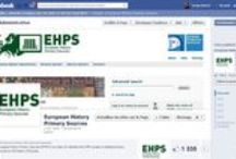 EHPS - European History Primary Sources / EHPS is a Portal indexing scholarly primary sources for the History of Europe at the European University Institute, Florence, Italy. This board quotes  books and websites that refers to EHPS