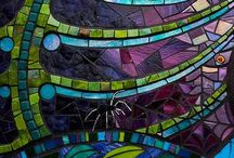 Mosaics and Stained Glass / by Saffron Galleria