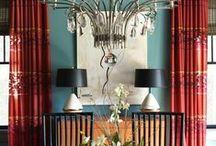 > colorful interiors <