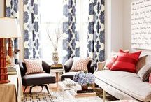 > colorful living rooms <