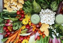 Make VEGGIES fun! / Including vegetables in your diet doesn't have to be mundane...have fun with it!