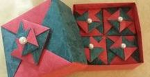 Origami boxes and dishes 2
