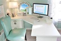 Thuiskantoor / Voorbeelden voor het inrichten van een kantoor in je eigen huis