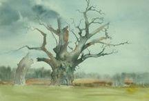 My watercolors / o moim malowaniu