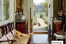 english country house style / interior desighn / by Wendy Ferguson-Mignan