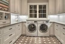 The Perfect Laundry  | Mud Room / Great Laundry & Mud Rooms with Cabinets