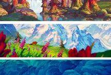 Landscapes designs