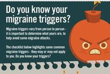 Migraine/hoofdpijn / Informatie en pins over leven met migraine of andere hoofdpijn.