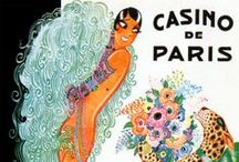 Vintage French Posters / Great French vintage posters: advertisement, cabaret, mode, any beautiful posters worth framing to decorate your walls!