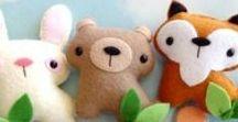 `*•.¸*•¸☆ Felt ideas ☆¸•*¸.•*´ / Best inspirational pins from Pinterest using felt.