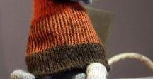 amigurumi na drutach i szydełkiem / moje zabawki