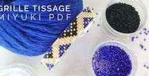 Miyuki pdf pattern - modeles grilles tissage - Petit Bout de Chou