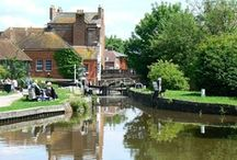 Canal Images - Aldermaston Marina