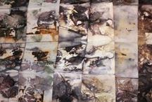 Textiles - Fabric dyeing & printing / by Val Reed