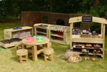 Outdoor Learning Space For Children